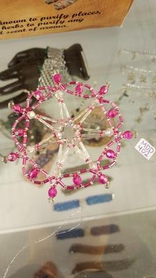 Pink Suncatcher